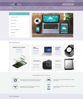 Template Joomla Shopstore