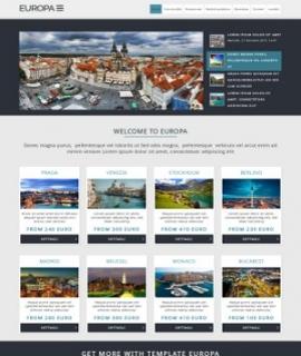 Template Joomla Europa