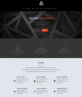 Template Joomla Abstract
