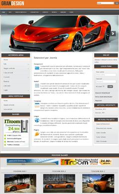 GranDesign Joomla Template
