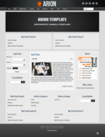 Arion Joomla Template