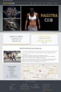 Palestraclub Joomla Template