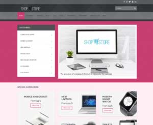 Stile Template Pink